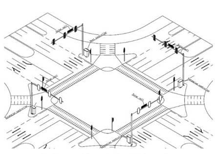 交通控制 - led交通信号灯厂家|led红绿灯工程|交通灯